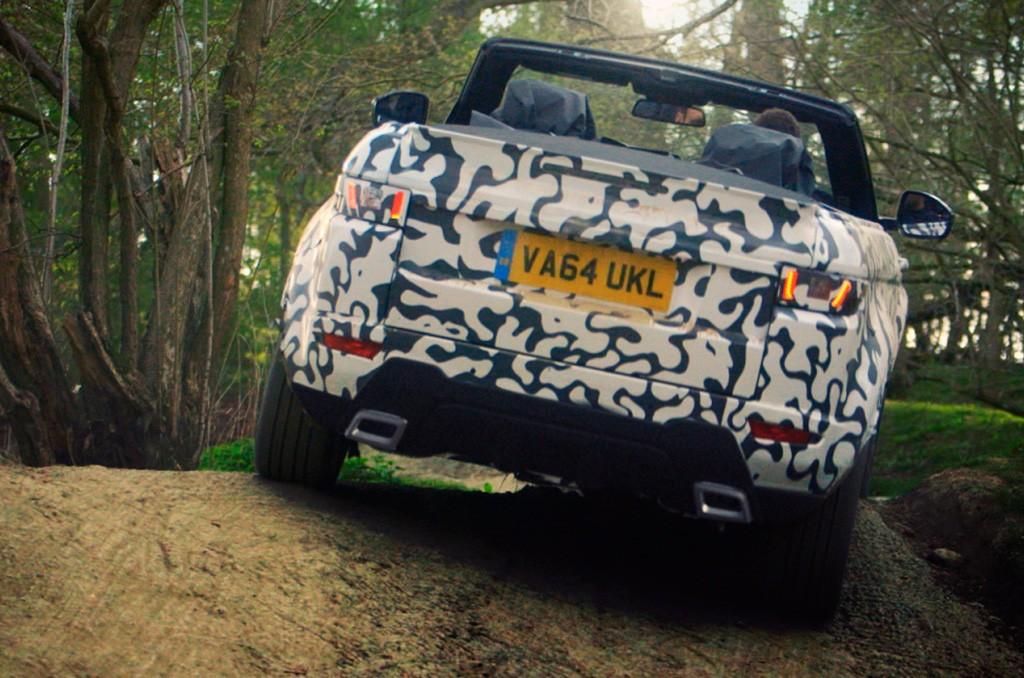 El Range Rover Evoque Convertible pone a punto su capacidad offroad