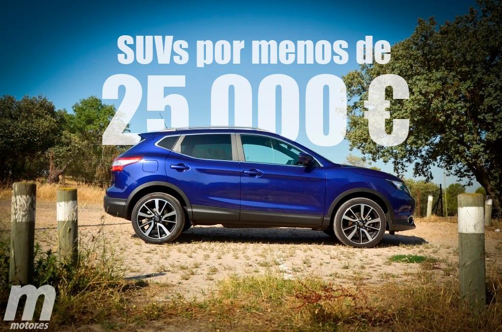 Los SUV que podemos comprar por menos de 25.000 euros (parte I)