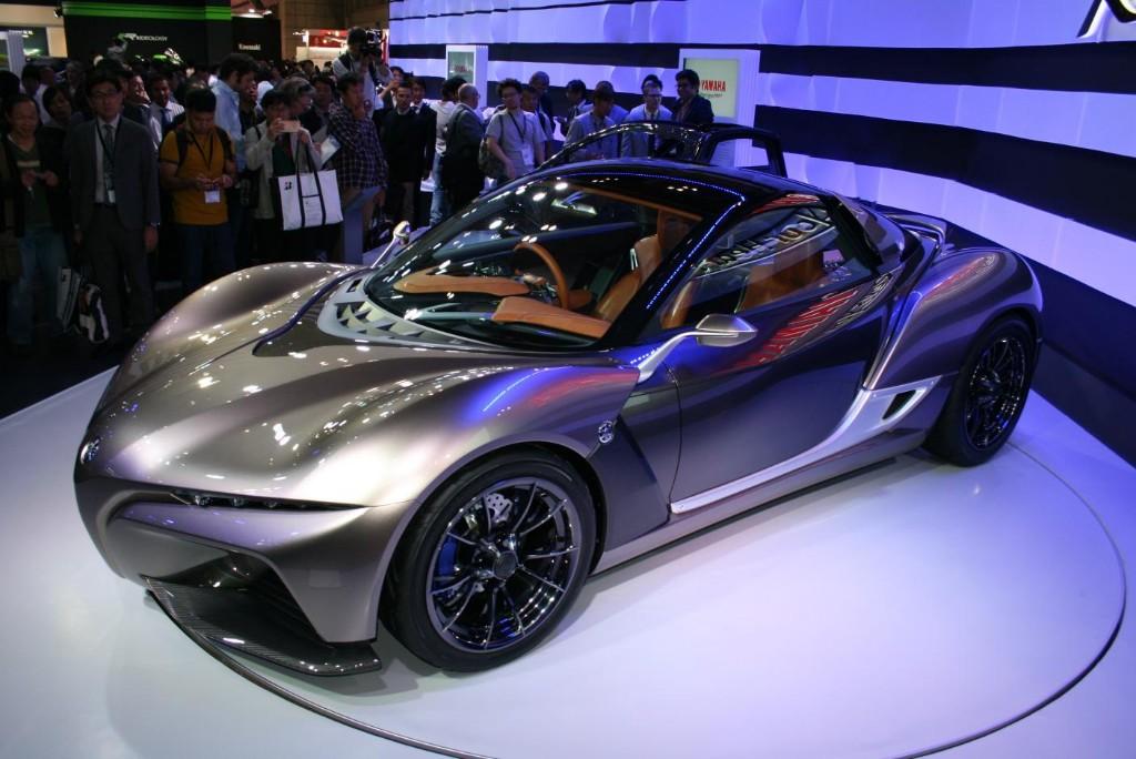 Yamaha Sports Ride Concept, un 'peso pluma' en Tokio