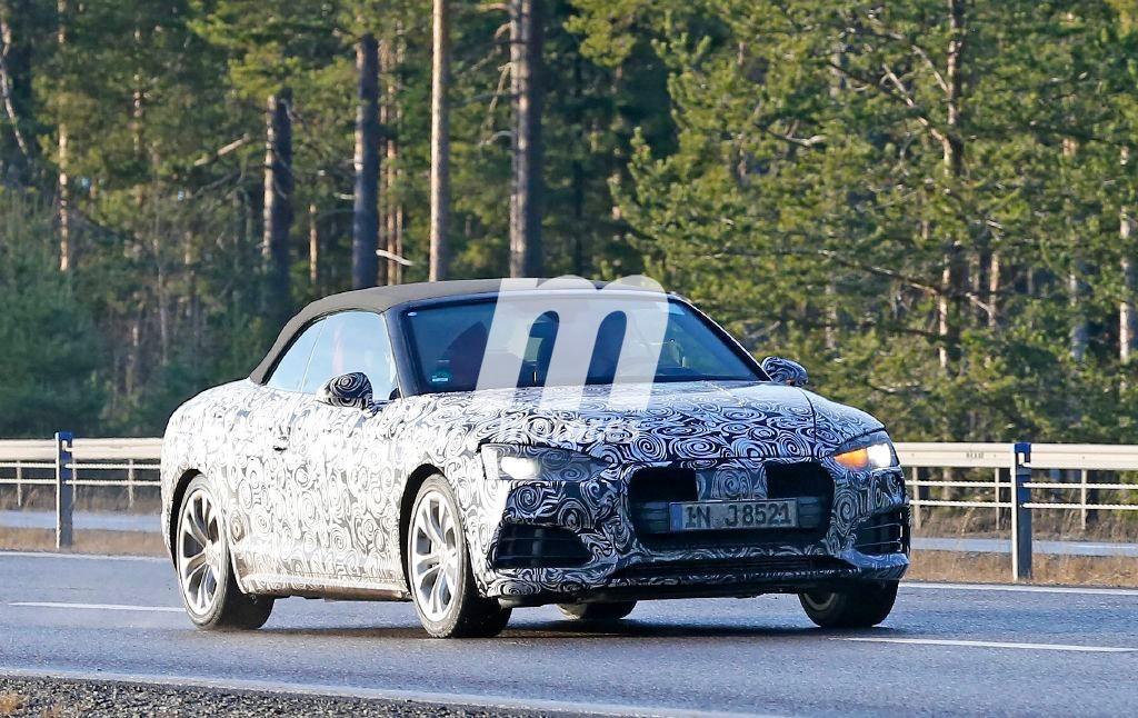 El Audi A5 Cabrio 2017 inicia su etapa de desarrollo en carretera