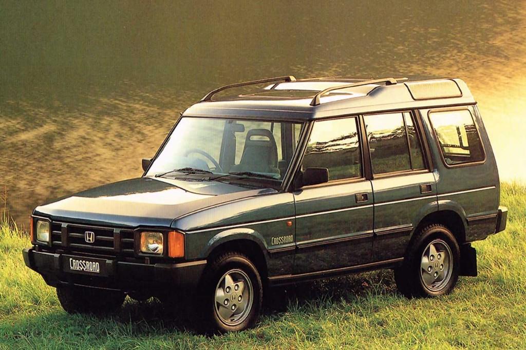 Honda Crossroad, un Land Rover japonés disfrazado