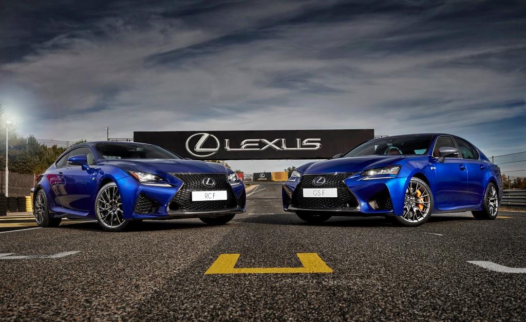Lexus te invita a probar los RC F y GS F en sus jornadas de conducción
