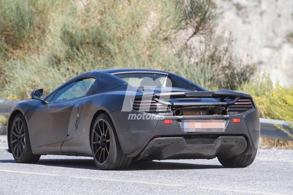 McLaren trabaja en un 675 LT Spider