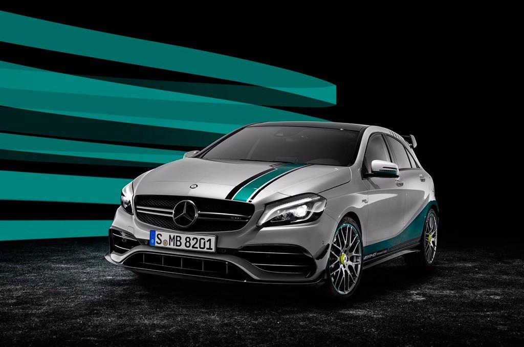 Un Mercedes A45 AMG Edición Especial F1 para celebrar el doblete