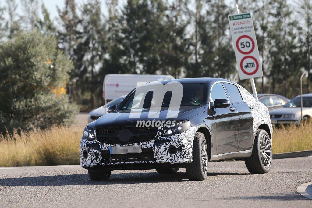 El Mercedes AMG GLC Coupe 450 Sport 2016 visto por primera vez