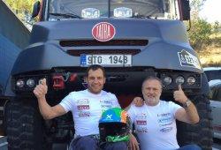 Albert Llovera disputará el Dakar 2016... ¡En camión!