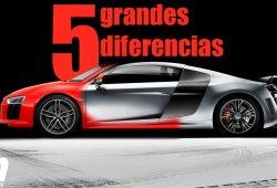 Audi R8 2015, las cinco grandes diferencias con su predecesor
