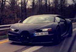 El Bugatti Chiron muestra su frontal por primera vez