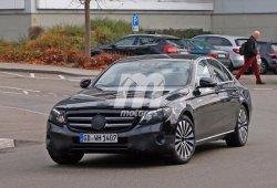 El Mercedes Clase E 2016 descubierto sin apenas camuflaje