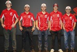 El Team HRC del Dakar 2016 se presenta en Milán