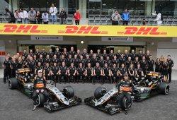 Force India, a cerrar matemáticamente su mejor clasificación histórica