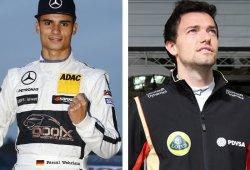 Jolyon Palmer y Pascal Wehrlein juntos en la Race of Champions