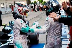 """Rosberg: """"La lucha entre Lewis y yo debe ser hombre contra hombre"""""""