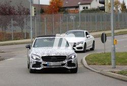 El Mercedes-Benz C Cabrio 2016 se deja ver otra vez con la capota al aire