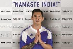 Leo Messi, nuevo embajador de Tata Motors