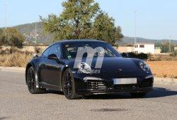 El Porsche 911 2018 comienza las pruebas del chasis