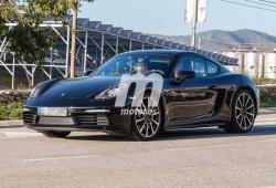 Porsche Cayman 2016 casi al descubierto