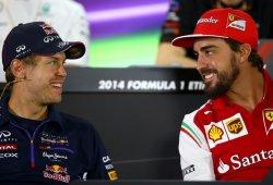 ¿Ha mejorado Vettel el primer año de Alonso en Ferrari?