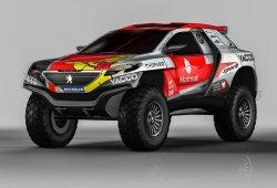 Romain Dumas viaja al Dakar con un Peugeot 2008 DKR15+