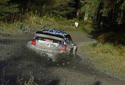 Sébastien Ogier, rey del barro en el Rally de Gales