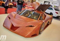 Splinter, un superdeportivo fabricado en madera en el Essen Motor Show