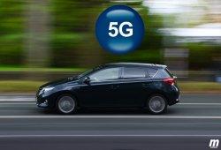 Telefonía 5G para comunicación entre vehículos