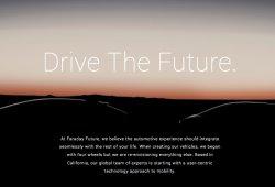 A Tesla le sale un competidor, llega el Faraday Future