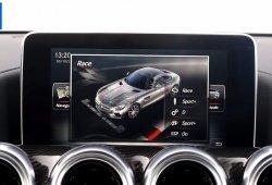 Échale un vistazo al sistema multimedia del Mercedes-AMG GT S de nuestra prueba