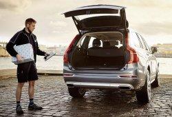 Volvo permite la entrega de paquetes en el maletero para el Black Friday