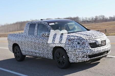 La Honda Ridgeline Pickup se prepara para su lanzamiento en EEUU
