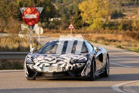 McLaren prepara un 570GT de cuatro plazas