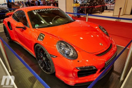 El Porsche 911 Turbo recibe un kit aerodinámico firmado por Moshammer