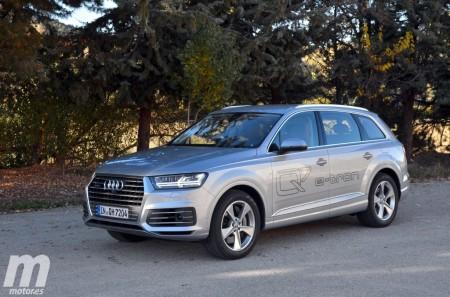 Prueba Audi Q7 e-tron quattro, eficiencia con sello premium