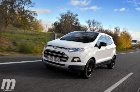 Prueba Ford EcoSport 2016, renovación completa