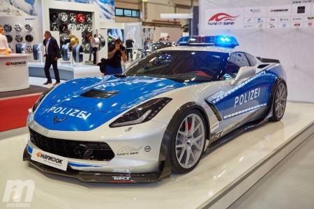 """El Corvette C7 se viste de coche policía en la iniciativa """"Tune It Safe 2015"""""""