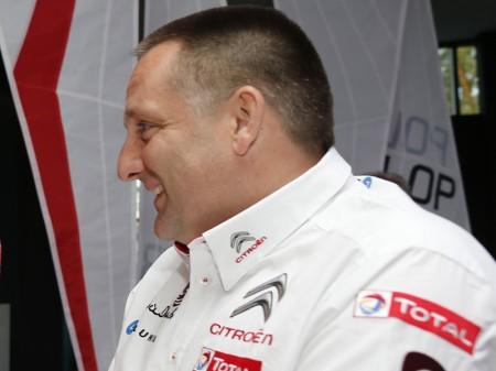 Yves Matton desliza que Citroën seguirá en el WRC