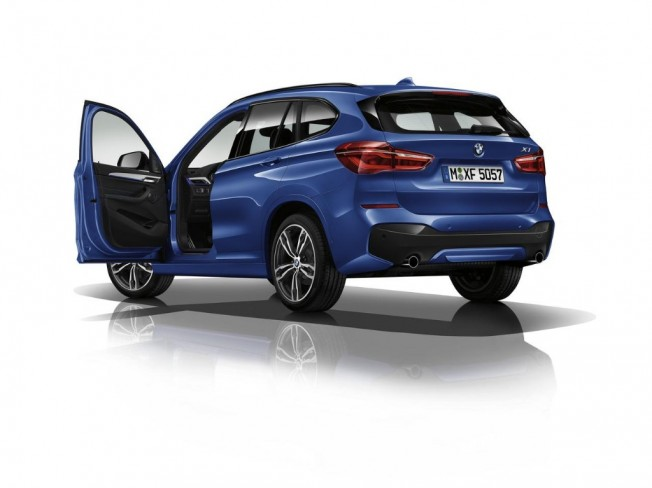 bmw x1 m sport 2016 m s deportividad y equipamiento para todos los motores. Black Bedroom Furniture Sets. Home Design Ideas