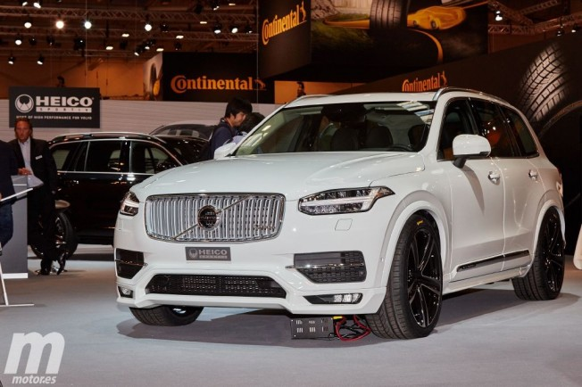 tuning el volvo xc90 gana m sculo gracias a heico sportiv. Black Bedroom Furniture Sets. Home Design Ideas
