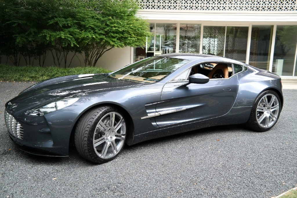 Un rarísimo Aston Martin One-77 sale a subasta en eBay