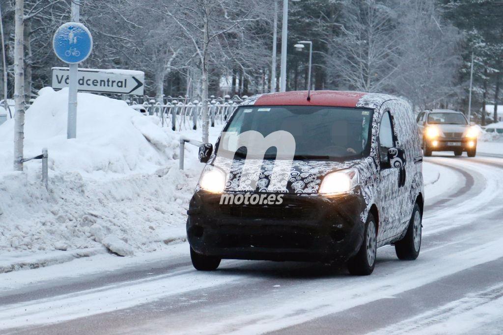 El Fiat Qubo 2017, empieza sus pruebas invernales