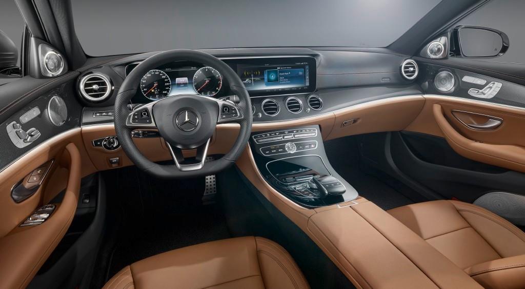 Así es el interior del Mercedes Clase E 2016, te dejará sin palabras