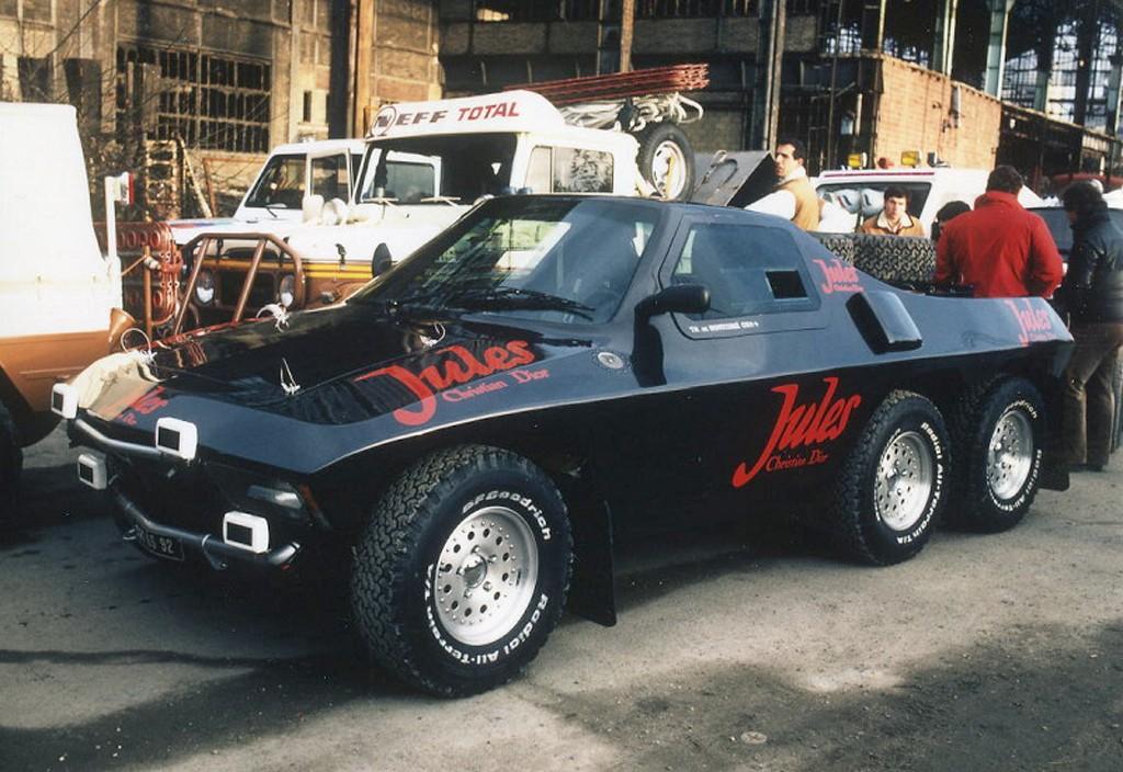 Jules II Proto 6x4, un extravagante asalto al rally Dakar