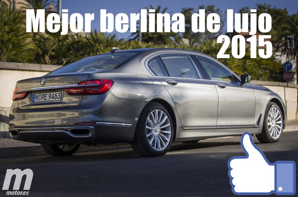 Mejor berlina de lujo 2015 para Motor.es: BMW Serie 7