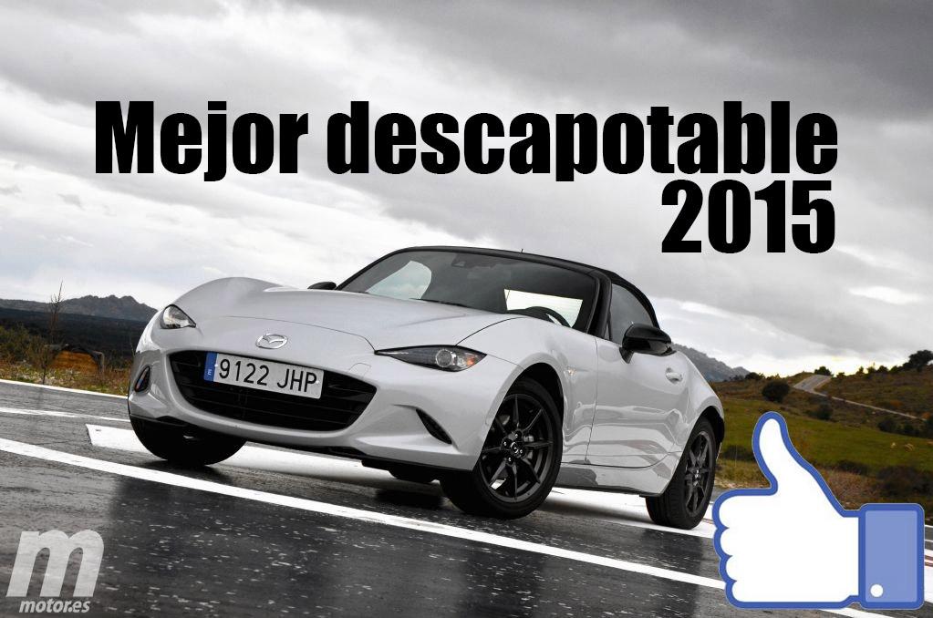 Mejor descapotable 2015 para Motor.es: Mazda MX-5
