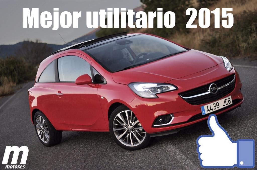 Mejor utilitario 2015 para Motor.es: Opel Corsa
