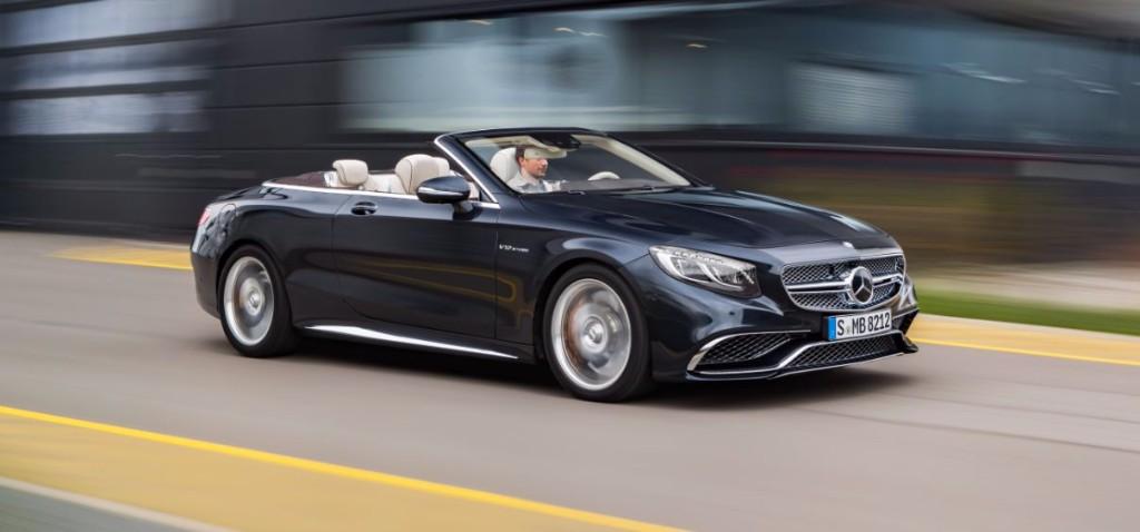 Mercedes-AMG S 65 Cabrio, descapotable de lujo con motor V12