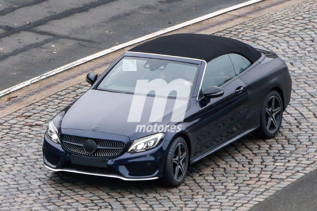 El Mercedes Clase C Cabrio 2017 queda casi al descubierto