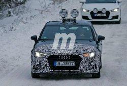 El Audi A3 Sedán ya trabaja en su facelift para el año que viene