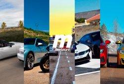 Las cinco comparativas más potentes de Motor.es en 2015