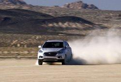 El Hyundai ix35 Fuel Cell bate el récord de velocidad en tierra de su categoría
